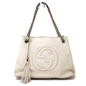 100% Auth Gucci Soho Medium Calfskin Crossbody Bag